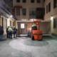 Ospedale Santa Croce di Cuneo - posizionamento container